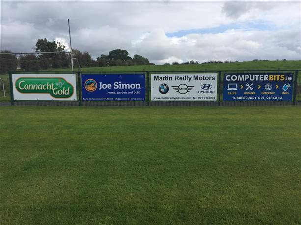 Nace O'Dowd Park Pitch Signs